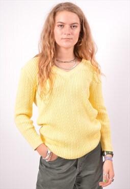 Vintage Tommy Hilfiger Jumper Sweater Yellow