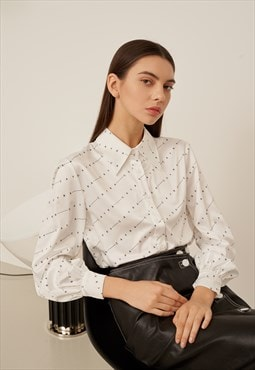 CAYRA Printed Shirt Blouse