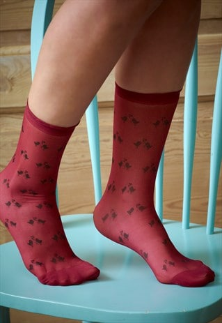 SUMMER LOVE BIRD SOCKS