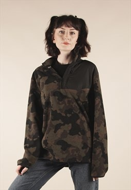 Vintage Starter Camo Print Fleece Jacket /MM1390