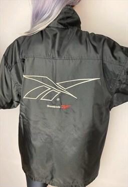 Vintage 90s Black Reebok Jacket