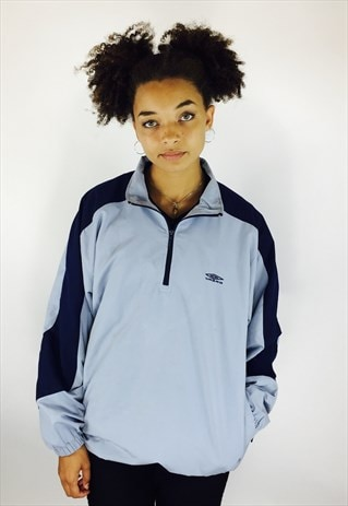 UMBRO 90S PULLOVER EMBROIDERED JACKET