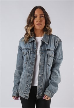 Denim Jacket ESPRIT Oversized Fitted Vintage UK 14 - 16 CWCB